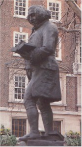 Statue of Johnson