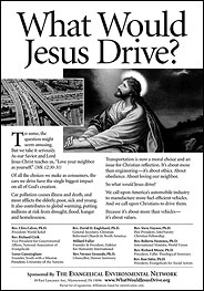 What Would Jesus Drive? ad